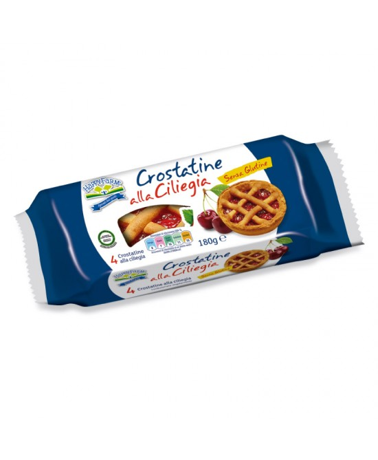 Happy Farm Crostatine Alla Ciliegia Senza Glutine 180 g