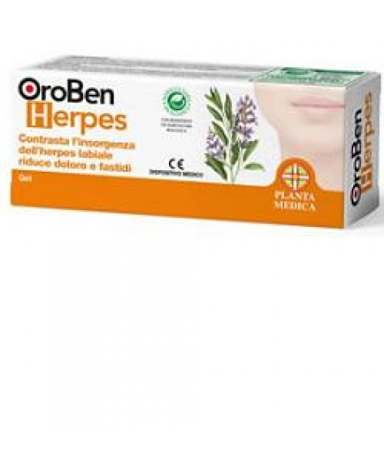 Oroben Herpes Biogel 8ml - La farmacia digitale