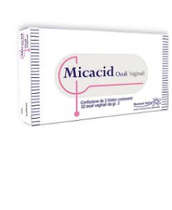 Micacid Ovuli Vaginali 10 Pezzi