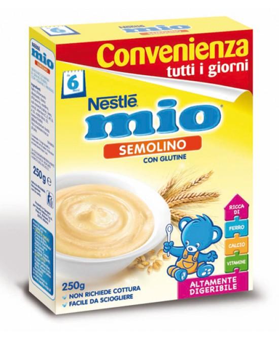 Nestlé Mio Semolino Per Lo Svezzamento Con Glutine 250g - Zfarmacia