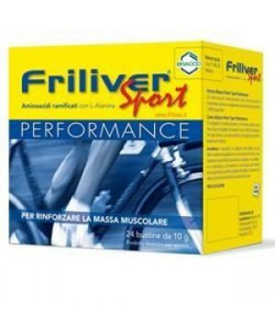 Bracco Friliver Sport Performance 24 Bustine Da 10gr - Speedyfarma.it