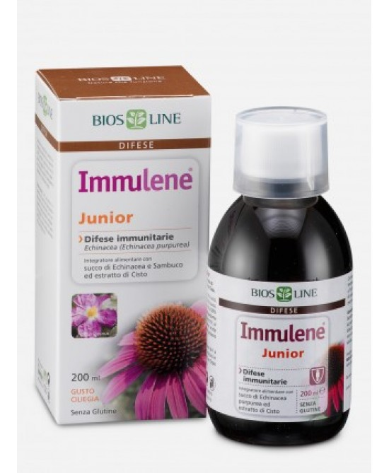 Bios Line Immulene Junior Integratore Alimentare 200ml - Farmaciasconti.it