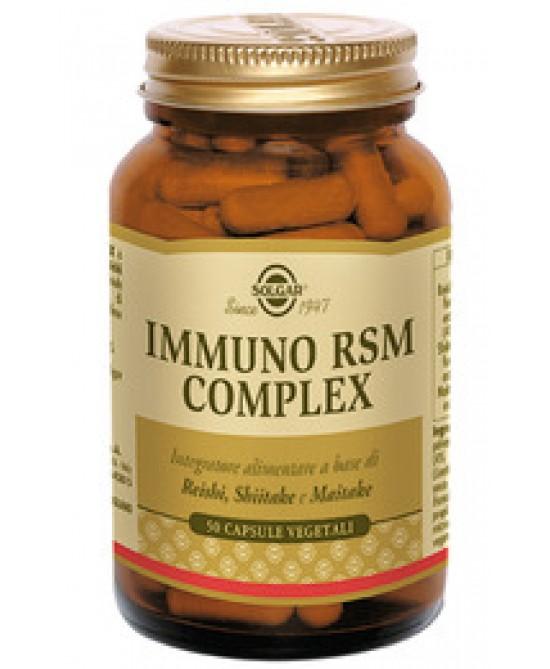 Solgar Immuno Rsm Complex 50 Capsule Vegetali - La farmacia digitale