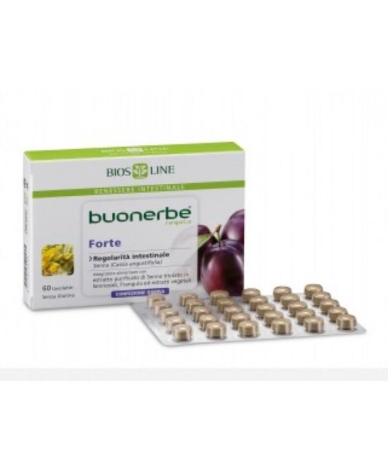 Bios Line Buonerbe Regola Forte Integratore Alimentare 60 Tavolette - Farmafamily.it