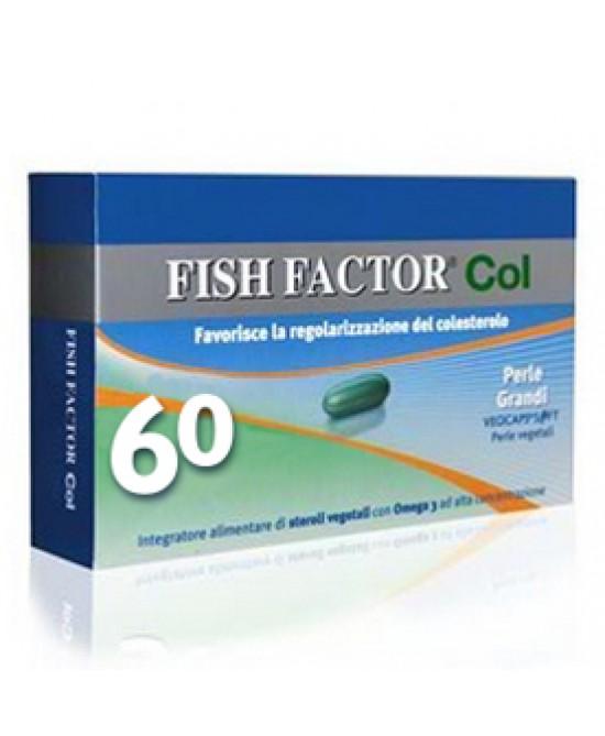 Fish Factor Col Integratore Alimentare 60 Perle Grandi