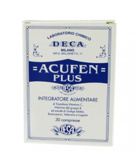 Acufen Plus 30cpr - Farmacia 33