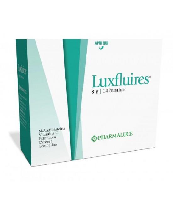 Pharmaluce Luxfluires Bustine Integratore Alimentare  14 Bustine - Farmafamily.it