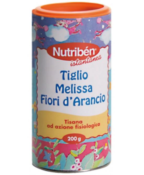 Nutribén Tisana Istantanea Al Tiglio Melissa E Fiori D'Arancio 200g - Farmastop