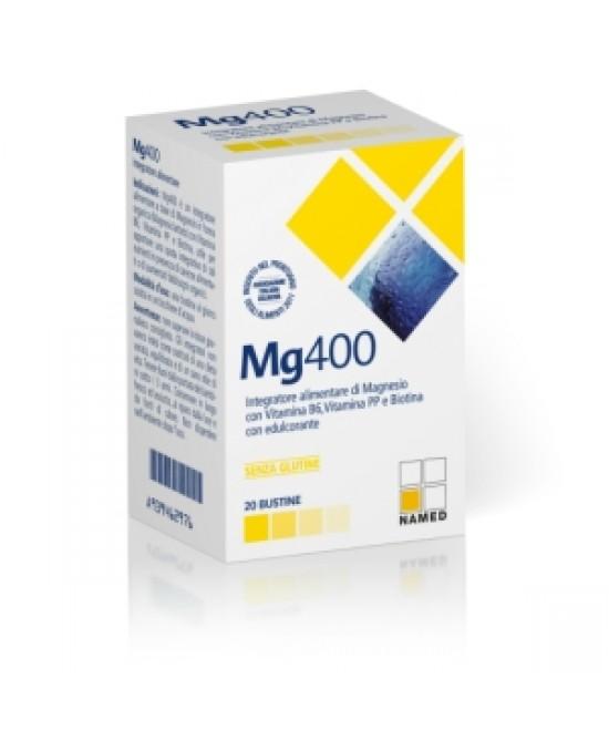 Named Mg400 Integratore Alimentare Polvere 20 Bustine - Farmastop