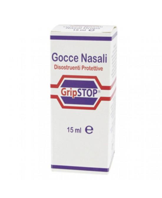 Grip Stop Gocce Nasali Lubrificanti 15 ml