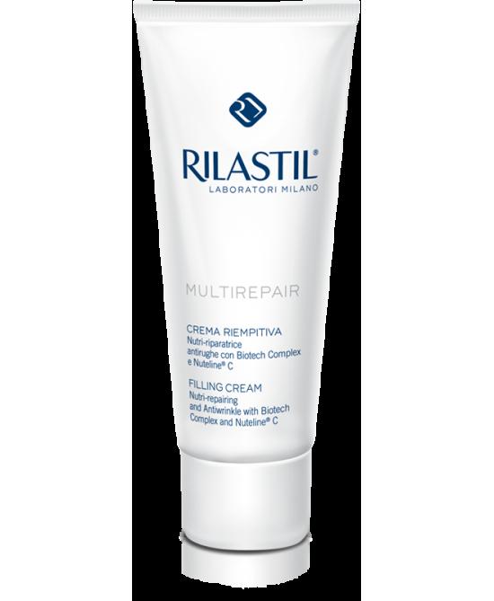Rilastil Multirepair Crema Viso Nutri-Riparatrice per Pelli Molto Secche 50 ml - latuafarmaciaonline.it