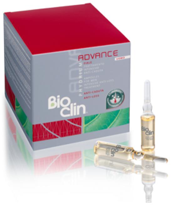 Bioclin Phydrium Advance Fiale Uomo Trattamento Intensivo Anticaduta 15 Fiale Da 5ml - FARMAPRIME