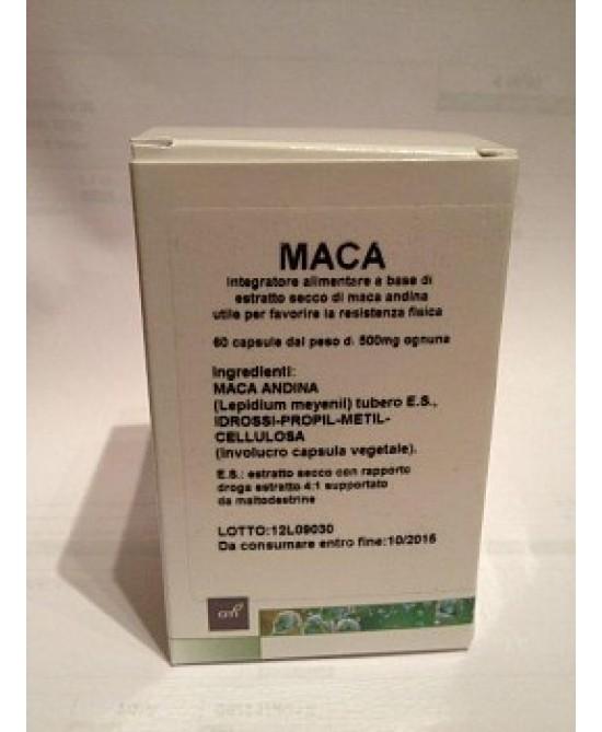 MACA ESTRATTO SECCO 60 CAPSULE - Farmabaleno