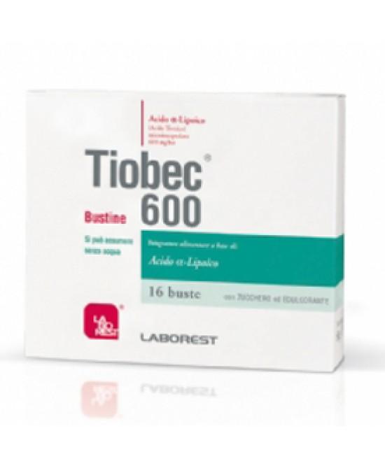 Tiobec 600 16bs 40g - FARMAEMPORIO
