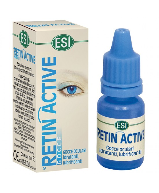Esi Retin Active Mirtillo Gocce Flacone Da 10ml - Farmafamily.it