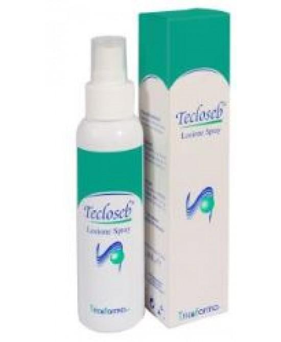Tecloseb Lozione Spray Pelle Seborroica a Tendenza Acneica 100 ml