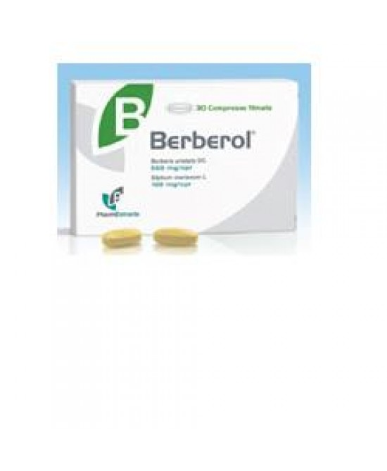 Berberol 30cpr - Parafarmacia la Fattoria della Salute S.n.c. di Delfini Dott.ssa Giulia e Marra Dott.ssa Michela
