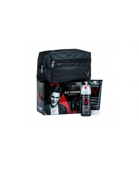 Vichy Homme Kit Sportivo Doccia Gel + Deo Traspirante - Farmaunclick.it