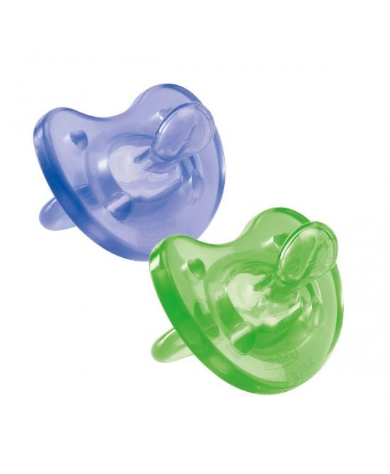 Chicco Gommotto Physio Soft  In Silicone Colorato +12Mesi 1 Pezzo - Farmacistaclick