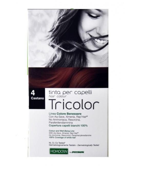 Specchiasol Tricolor Tinta Per Capelli - Castano 4 - latuafarmaciaonline.it