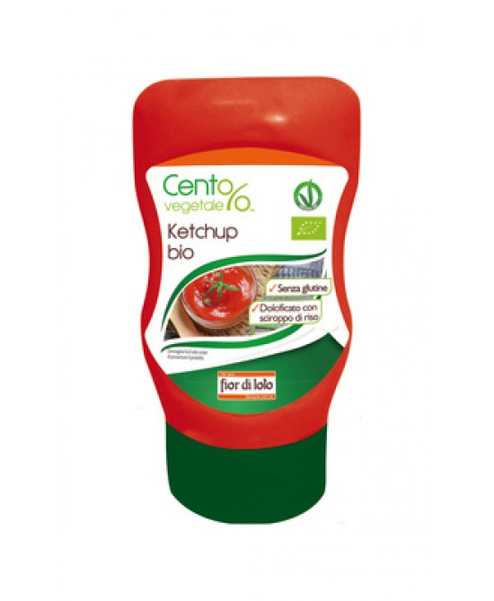 Il Fior Di Loto Ketchup Bio Squeeze 290g
