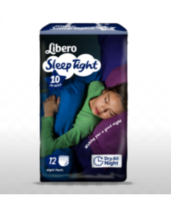 LIBERO SLEEPTIGHT TAGLIA 10 12 PEZZI - Farmajoy