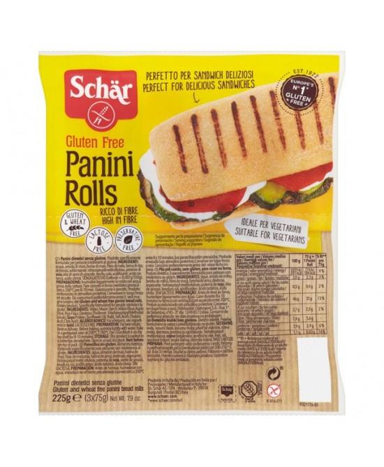 Schar Panini Rolls Senza Glutine 3x75g - FARMAPRIME