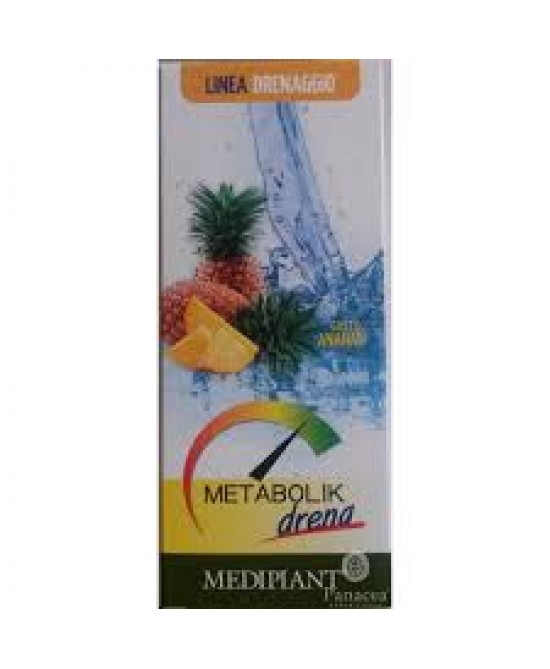 Metabolik Drena Ananas Integratore 500 ml