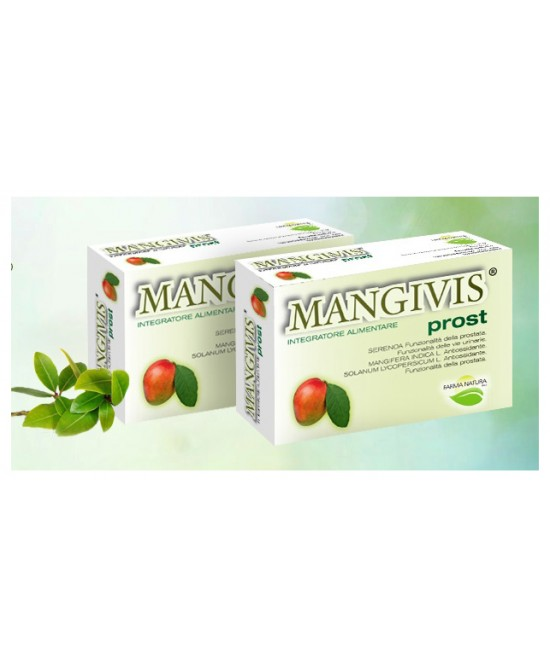 Mangivis Integratore Prostata 30 Capsule