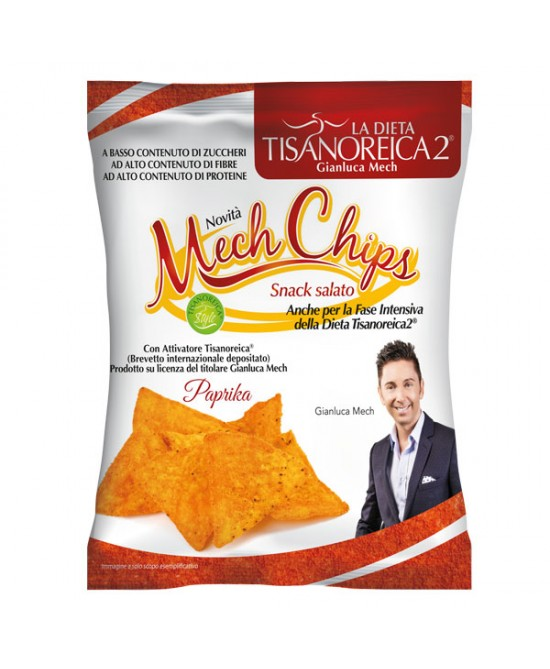Tisanoreica 2 Mech Chips Patatine Gusto Paprika 25g - Iltuobenessereonline.it