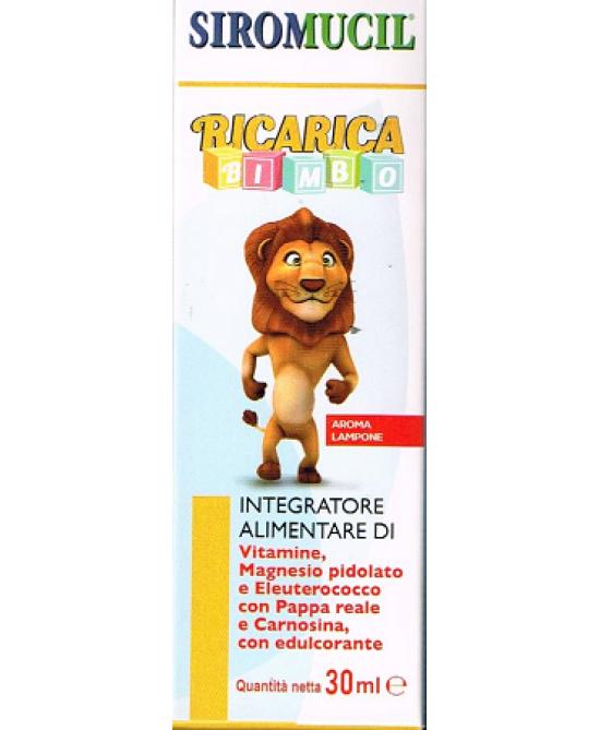 Siromucil Ricarica Bimbo Integratore Alimentare 30ml