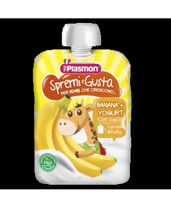 Plasmon Spremi E Gusta Banana E Yogurt 85g - farma-store.it