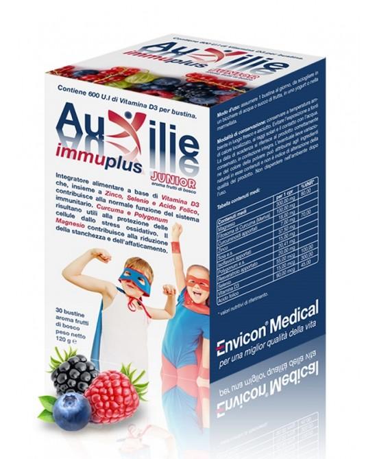 Auxilie Immuplus Junior Integratore 30 Bustine