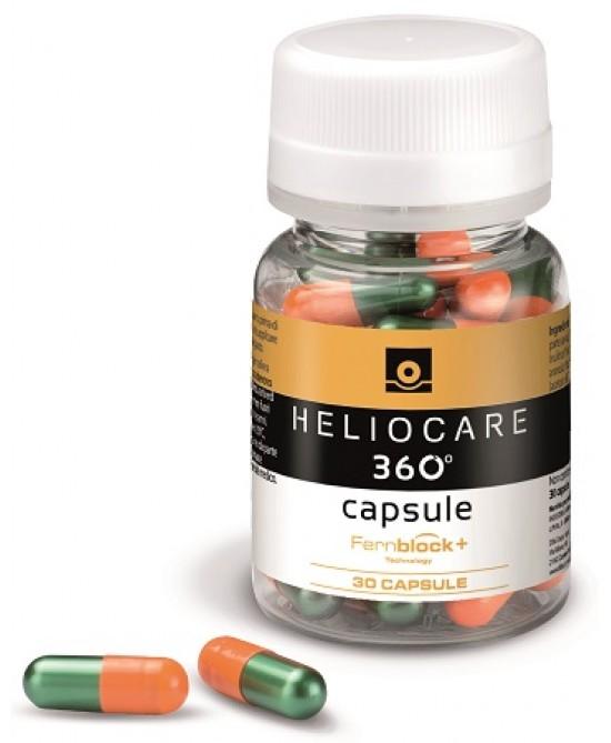 Heliocare 360 Oral Integratore Alimentare 30 Capsule - Zfarmacia