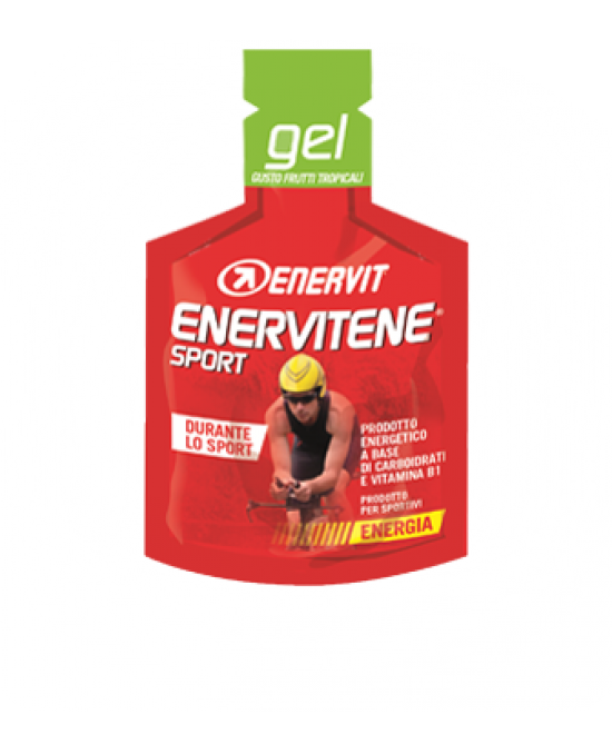 Enervit Enervitene Sport Gel Gusto Frutti Tropicali Integratore Alimentare 1 Bustina 25ml - Farmacia 33