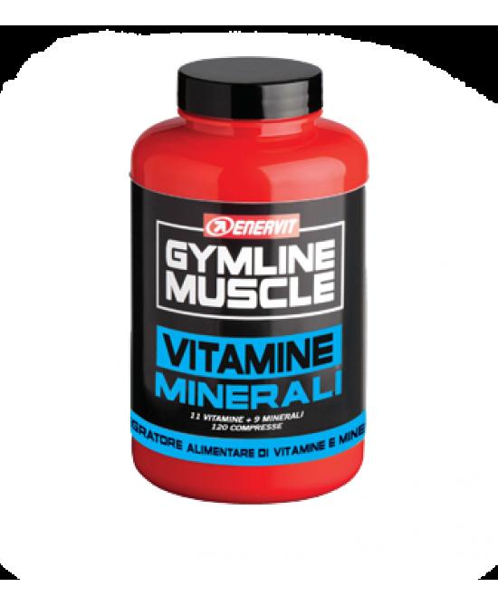 Enervit Gymline Muscle Vitamine Minerali 120 Compresse - Farmaseller