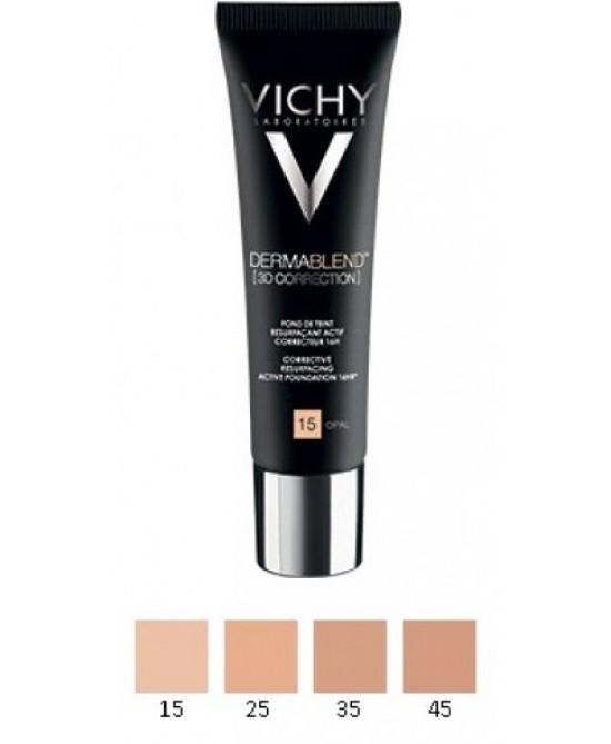 Vichy Dermablend 3D Correction Fondotinta Correttore 25 Nude 30 ml