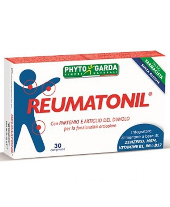 Phyto Garda Reumatonil Integratore Alimentare Per Funzionalità Articolare 30 Compresse - Speedyfarma.it