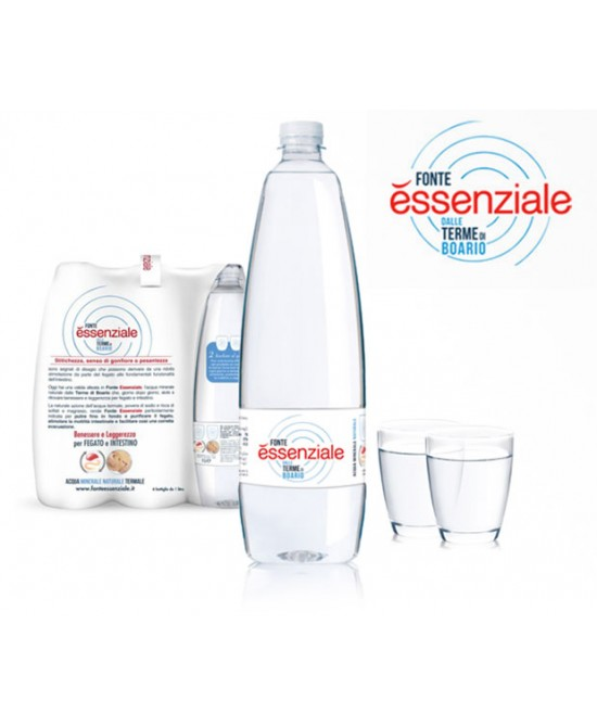 Fonte Essenziale Acqua Minerale Naturale Di Origine Termale In Confezione Pet 6x400ml - Farmafamily.it