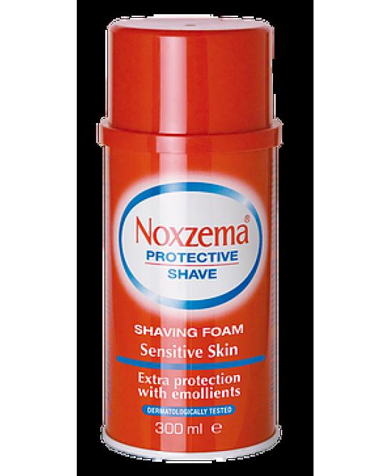 Noxzema Protective Shave Sensitive Skin Schiuma Da Barba 300ml
