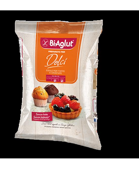 Biaglut Preparato Per Dolci Senza Glutine 500g - Farmafamily.it