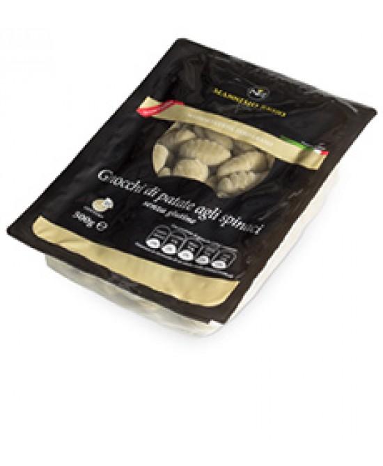 Massimo Zero Gnocchi Di Patate Agli Spinaci Senza Glutine 500g - FARMAEMPORIO