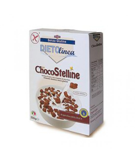 DIETOLINEA BIO CHOCO STELLINE 375 G - Farmapage.it