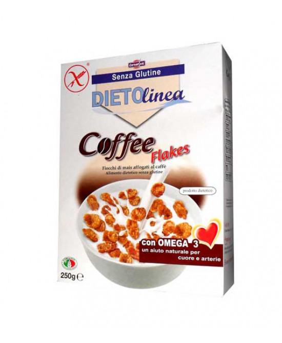 Cerealvit Dietolinea Coffee Flakes Senza Glutine 375 g