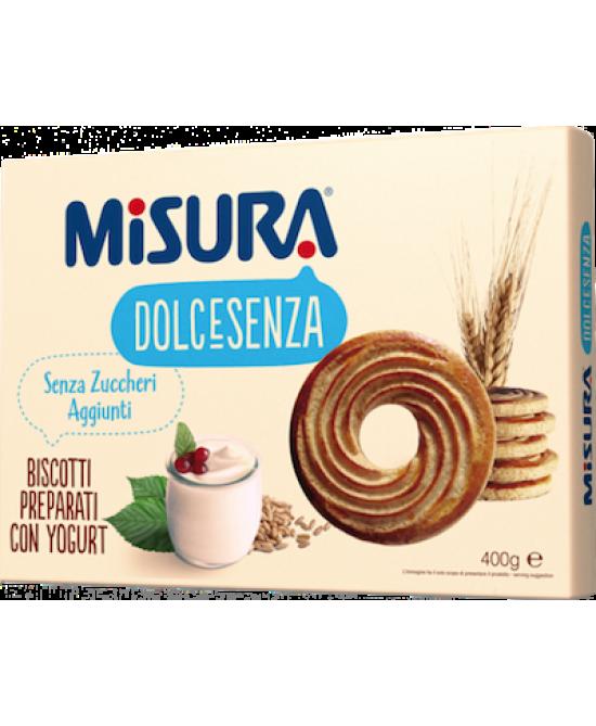 Misura Dolcesenza Biscotti Con Yogurt Senza Zucchero 400 g