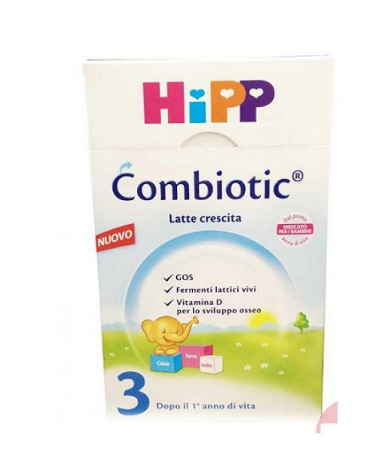 Hipp Combiotic 3 Latte In Polvere Biologico 600g dai 12 mesi - Farmafamily.it