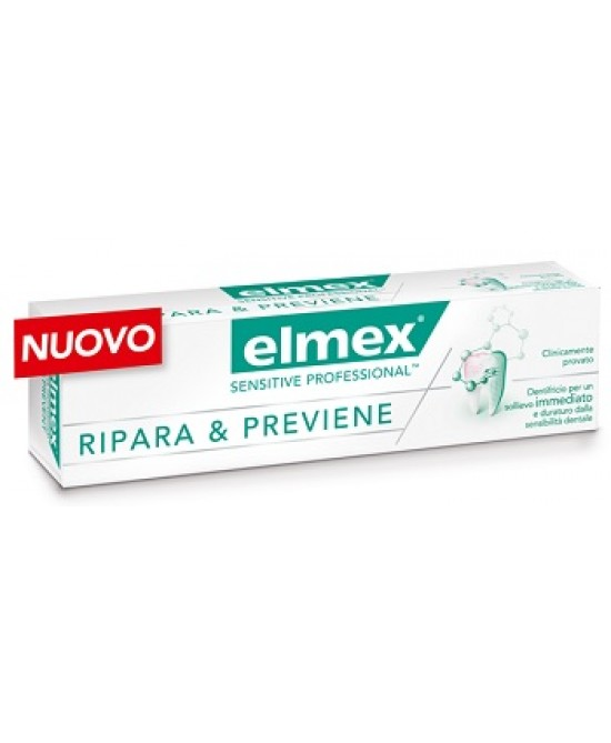 Elmex Sensitive Professional Ripara & Previene Dentifricio 75ml -