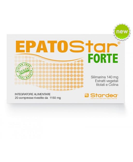 EpatoStar Forte 1150mg Integratorte Alimentare 20 Compresse Rivestite - Farmacistaclick
