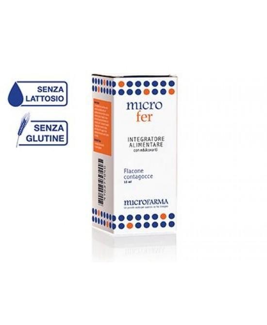 Microfarma Microfer Acido Folico Gocce 15ml - La tua farmacia online
