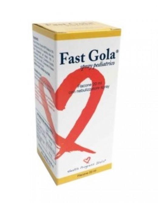 Fast Gola Spray Pediatrico Integratore Alimentare 20ml